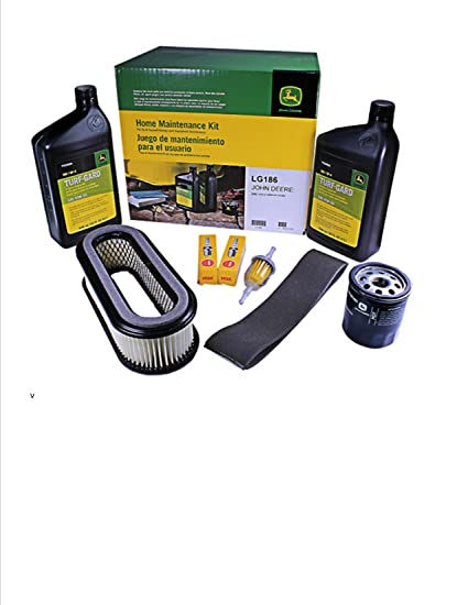 John Deere Maintenance Kit 345 Lawn and Garden Tractor - Serial Number up  to 096209 - Filters, Oil LG186