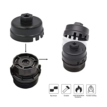 .com: carrep 64mm oil filter cap wrench for toyota camry ...