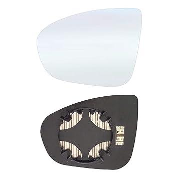 Retrovisor Izquierdo Espejo de cristal con placa y calefacción # olzat11 AM LCH: Amazon.es: Coche y moto