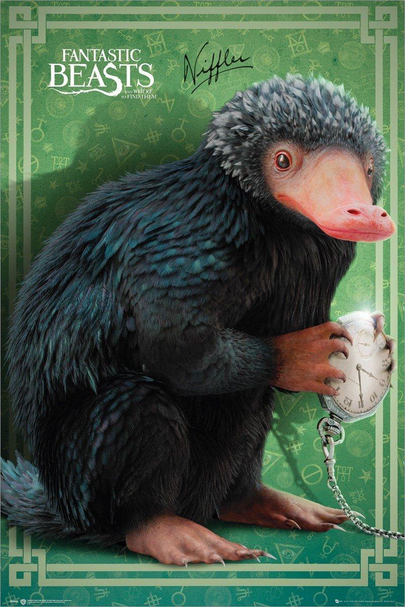 GB Eye, Animales Fantásticos, Niffler, Maxi Poster 61x91.5cm ...
