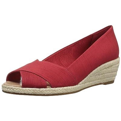 206 Collective Women's Braylon Open-Toe Espadrille Wedge-Low Sandal: Clothing