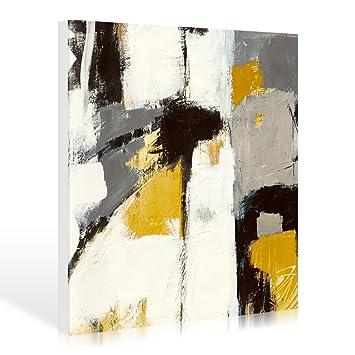 Leinwandbild Mike Schick   Yellow Catalina I   120 X 120cm    Premiumqualität   Kunst Der