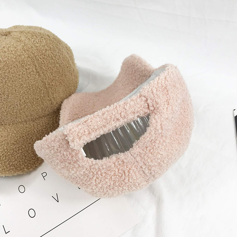 New Women Plush Baseball Cap Cute Girls Thick Warm Snapback Hats Fashion Winter Autumn Casquette Outdoor Caps