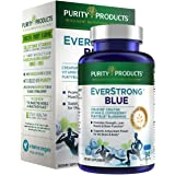 EverStrong Blue by Purity Products - Strength Building + Brain Boosting w/ Muscle Matrix Blend ft. Creapure Creatine Monohydr