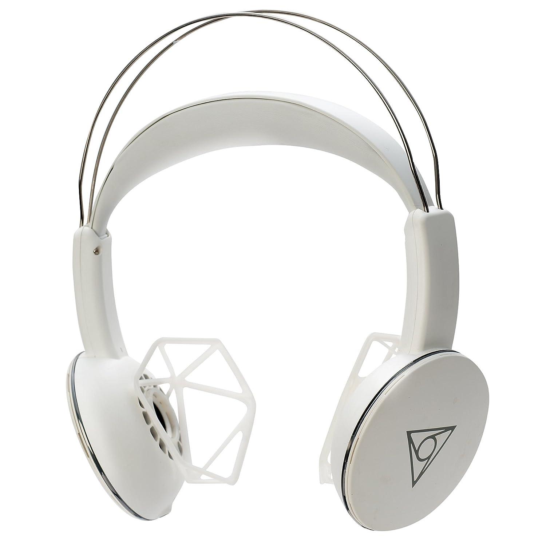 ヴィーシェア(ホワイト)/耳が痛くならないワイヤレスエアーヘッドホン  白 B01N4FNSZ6