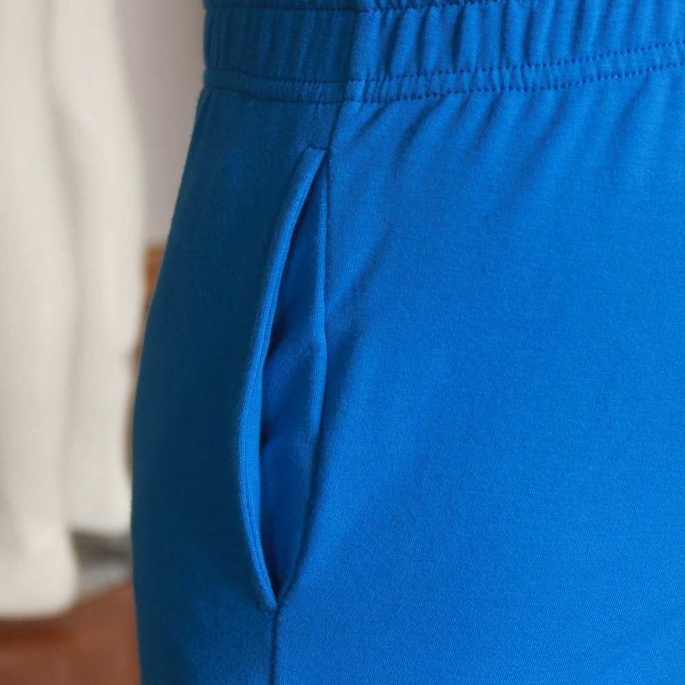 MUSCLE ALIVE Mens Workout Shorts 3 Inseam 95/% Terry Cotton 5/% Spandex with Pockets Thick Fabric