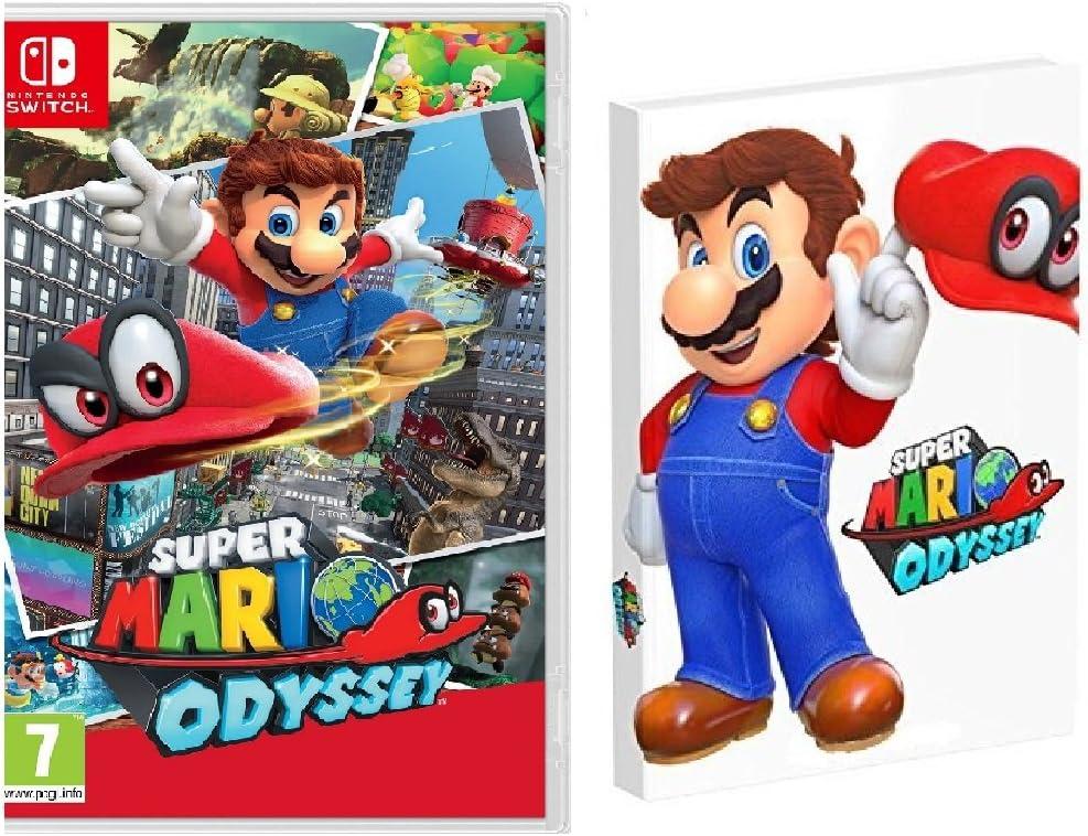 Super Mario Odyssey + Guía Super Mario Odyssey CE: Amazon.es ...