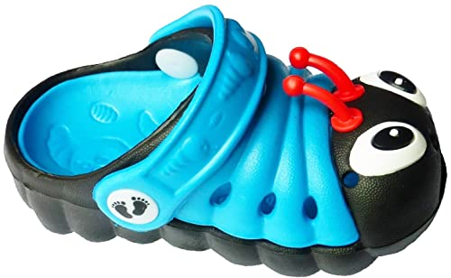 126a30ca9f99a3 Clogstrom Clogs for Infant or Toddler Boys and Girls Unisex Sandal Animals  Shoe ( 4 Blue