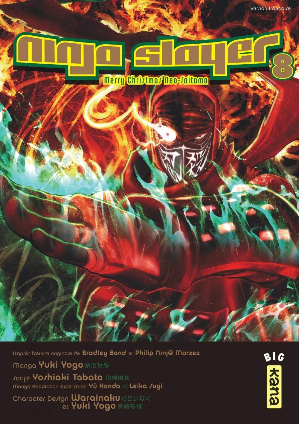 Ninja slayer, tome 8: Amazon.es: Yoshiaki Tabata, Yuki Yogo ...