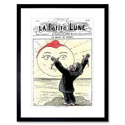 Amazon Com Magazine Parisian Satire Petite Lune French Moon Nuit