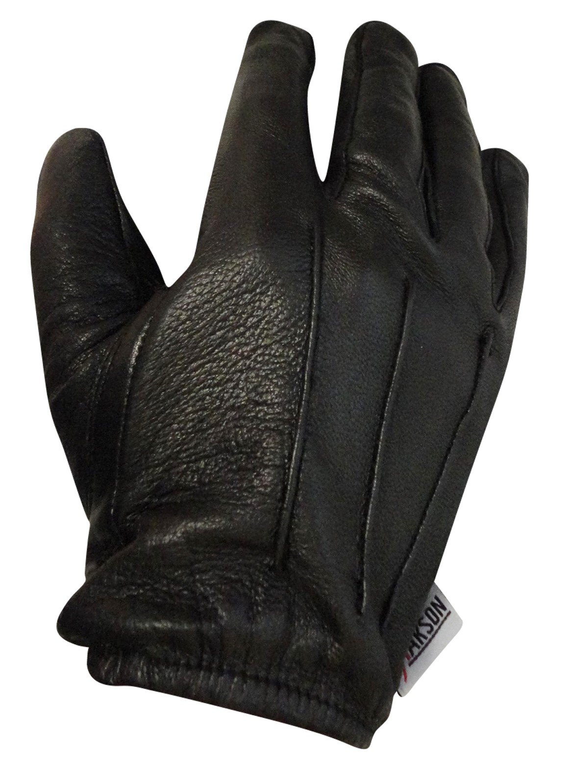 White Leather Police Driving Small Gloves