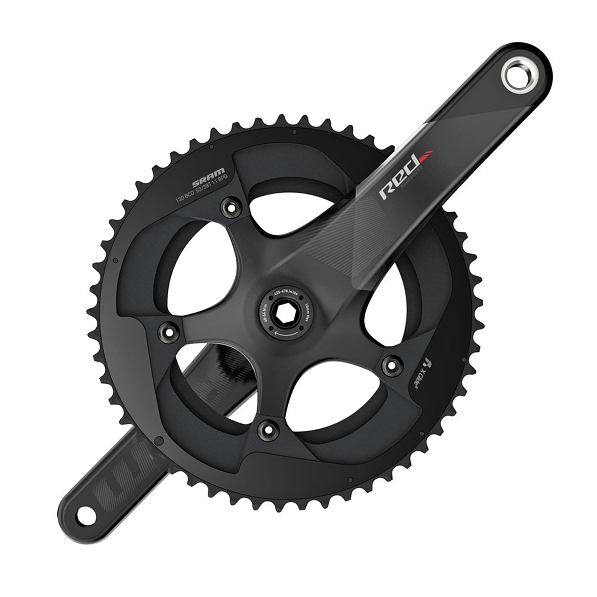 SRAM Red Gxp 11Sp 175mm 52/36T No BB Wheel