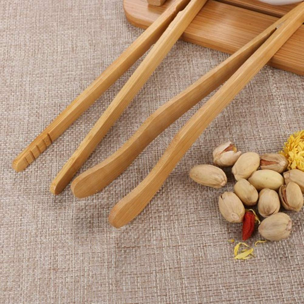 Pinze per griglia /Pinze il cibo pinze di legno della pinza cottura naturale Bamb/ù alimentare clip b Posate da insalata di bamb/ù bamb/ù 2/X milopon Pinza Pinza Pinza da cucina/ Buffet in legno