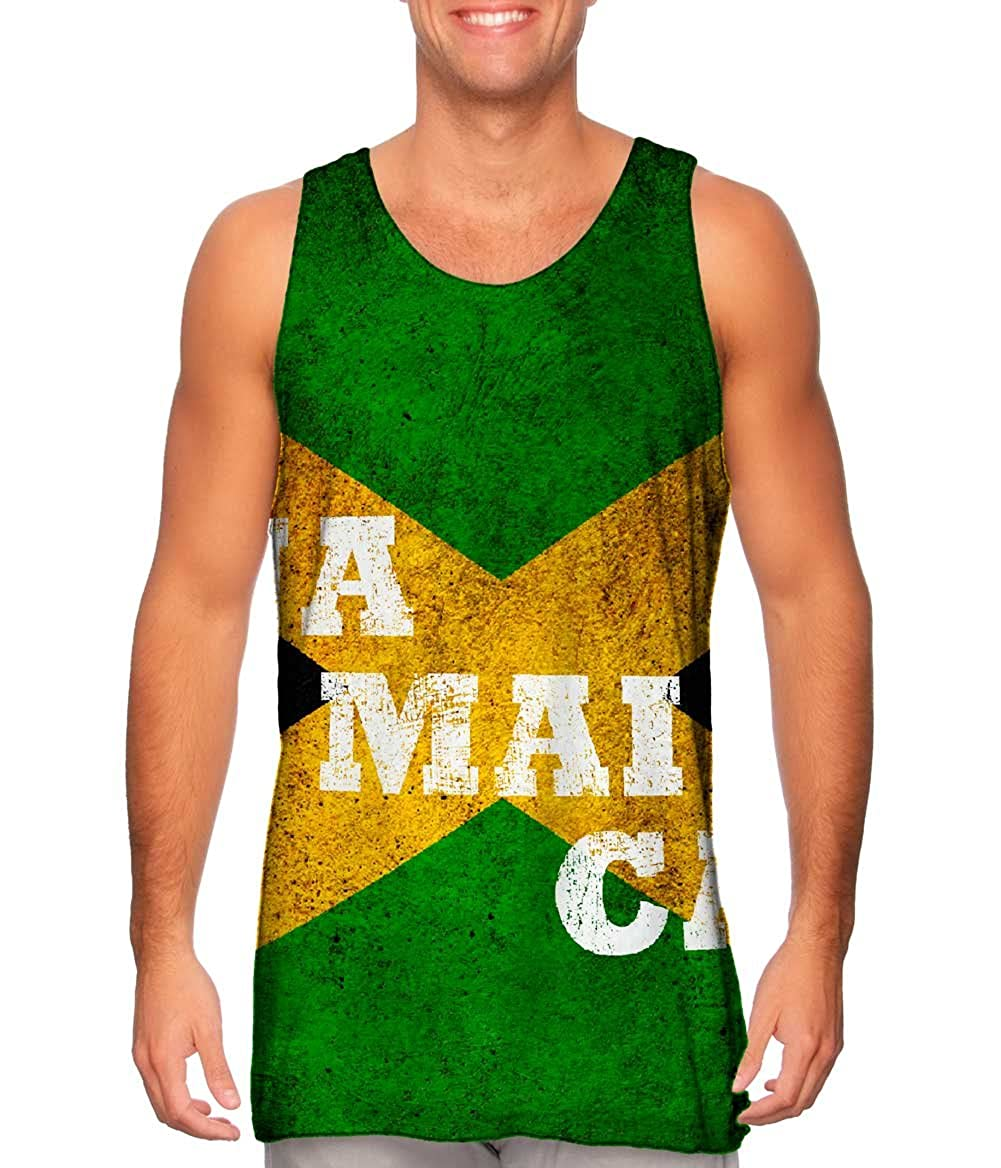 Yizzam- Mens Tank Top Tshirt Dirty Jamaica