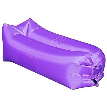 Amazon.com: iZEEKER Tumbona hinchable de viento Breezy Funda ...