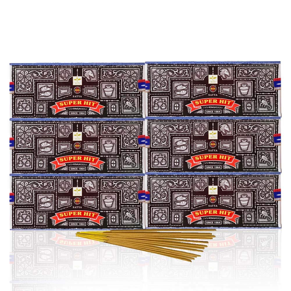 Satya Super Hit, 100 G, (Case of 6) by Sai Baba Super Hit