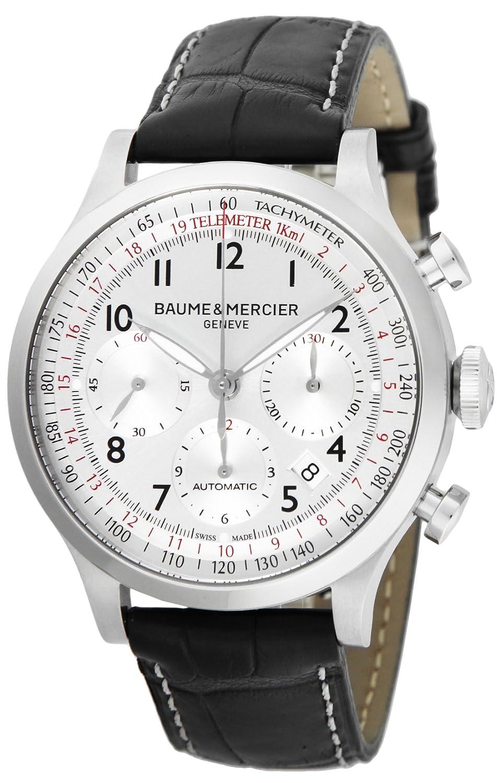 [ボーム&メルシエ]BAUME & MERCIER 腕時計 CAPELAND シルバー文字盤 自動巻 クロノグラフ デイト MOA10046 メンズ 【並行輸入品】 B00O0QMG0M