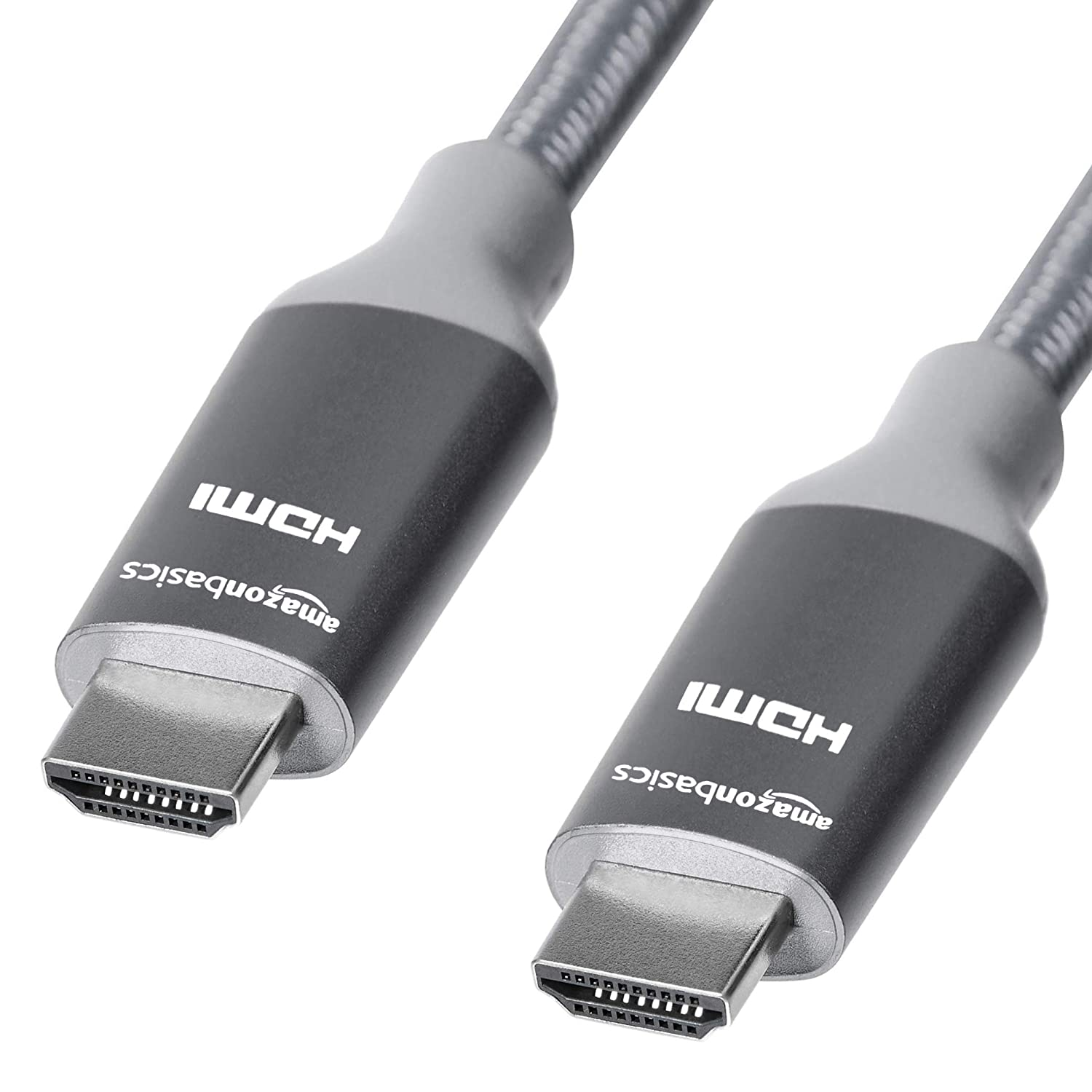 Gold 3 Feet Basics Premium High-Speed 4K HDMI Cable with Braided Cord