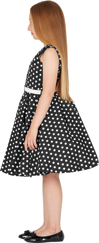 BlackButterfly Kids Holly Vintage Polka Dot 50s Girls Dress