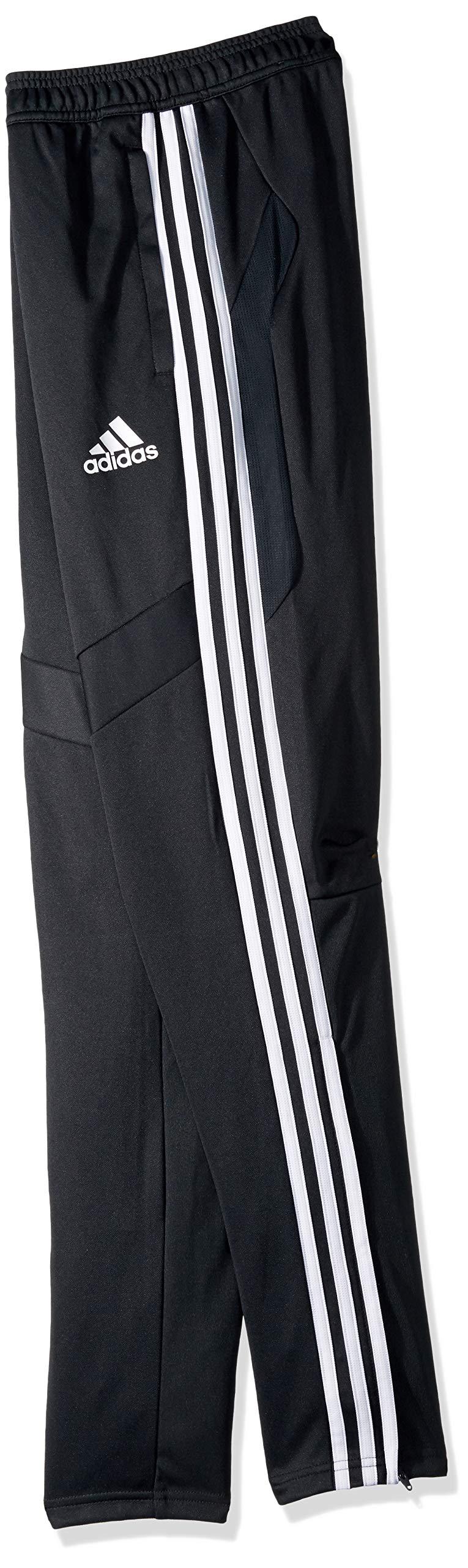 adidas Youth Tiro19 Youth Training Pants, Dark Grey/White, XX-Small by adidas (Image #2)