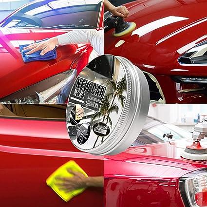 Aujelly Autowachs Car Coating Wax Carnauba Paste Wax Anti Scratch Hydrophobic Polish Car Nano Coating Waxes Repair Scratch Remover Waterproof Wax 150ml Auto