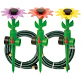 Melnor Multi-Adjustable Sprinklers and Garden Hoses Kit, Covers up to 1,800 sq. ft. - Can be Easily Customized for Your Special Watering Needs