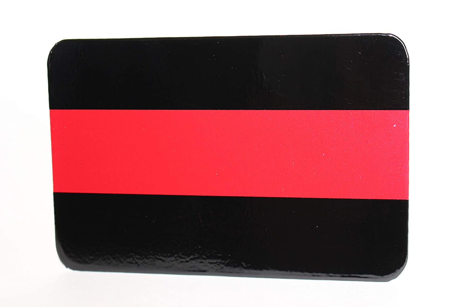 Rectangle Red Line Hitch Cover