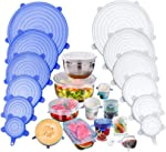 Silicone Stretch Lids, Insta Lids, Instalids, Reusable Silicone Lids With Hanging