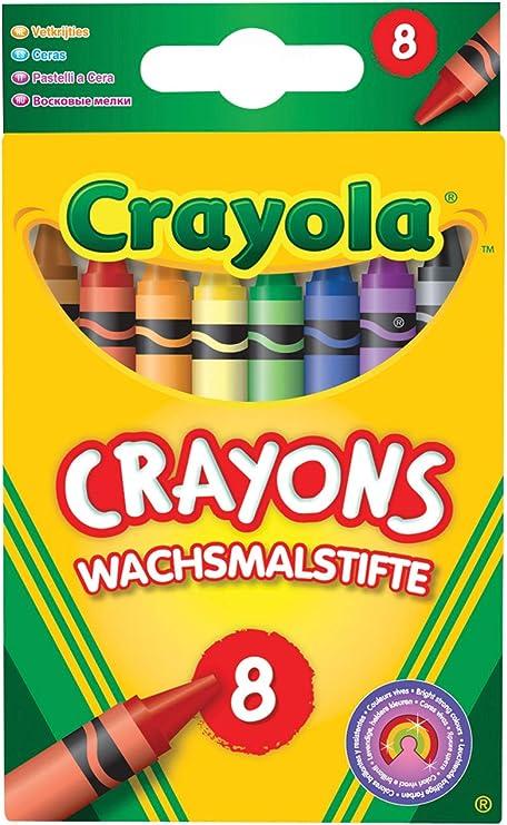 Crayola 114574 Gekleurde Kleurpotloden 8 Pack Amazon Nl
