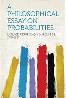 a philosophical essay on probabilities amazon co uk pierre simon a philosophical essay on probabilities
