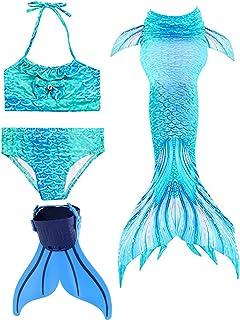 Amazon.com: DQTOFIN cola de sirena para natación, trajes de ...