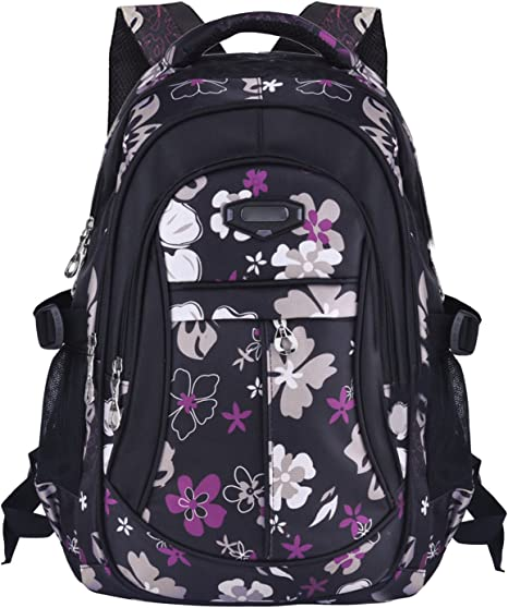 Coofit Cartable fille Sac a dos fille Sac dos ecole fille Cartable fille primaire Sac dos college fille Cartable enfant primaire scolaire Sac a dos