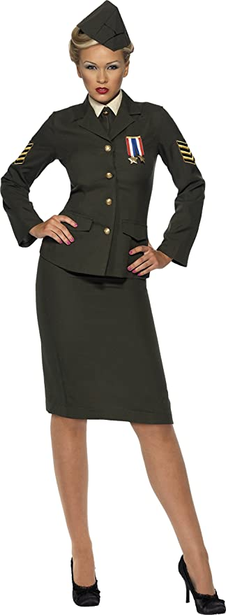 1940s Costume & Outfit Ideas – 16 Women's Looks Wartime Officer Costume  AT vintagedancer.com