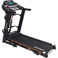 Fitkit FT100 Series Motorized Treadmill with Manual Inclination (Free Installation Assistance)