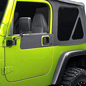 Durable Black Textured Anti Slip Material 87-06 TJ /& YJ Hood Shield Protection Decals 3 Pieces XPLORE OFFRAOD Jeep Wrangler