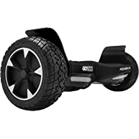 """GOTRAX Hoverfly XL All Terrain Hover Board 8.5"""" Solid Rubber Tire - UL2272 Certified Self Balancing Off Road Hoverboard"""
