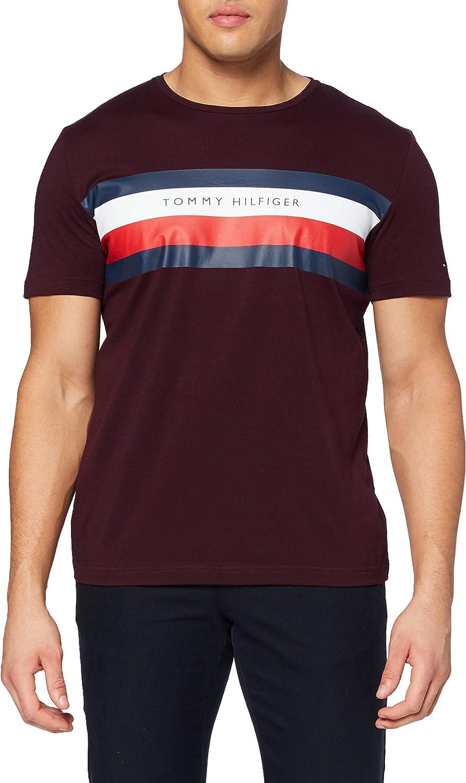 Tommy Hilfiger Stripe tee Camisa para Hombre