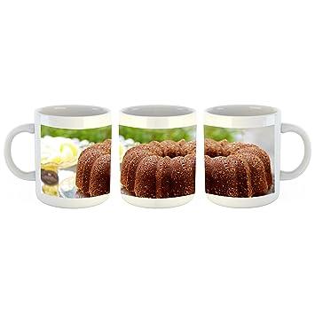 Unified Distribution Gugelhupf Kuchen Tasse Mit Motiv Bedruckt