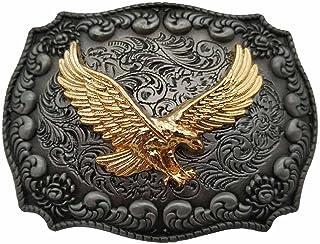 Golden Eagle Western Belt Buckle 1-ONE