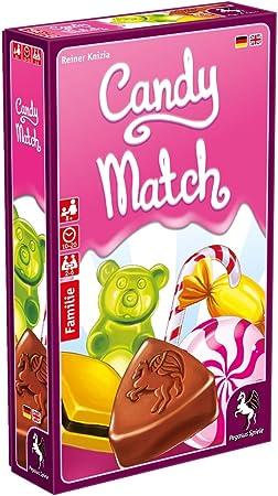 Pegasus Juegos 20021 g Candy Match, Juego de Cartas: Amazon.es: Juguetes y juegos