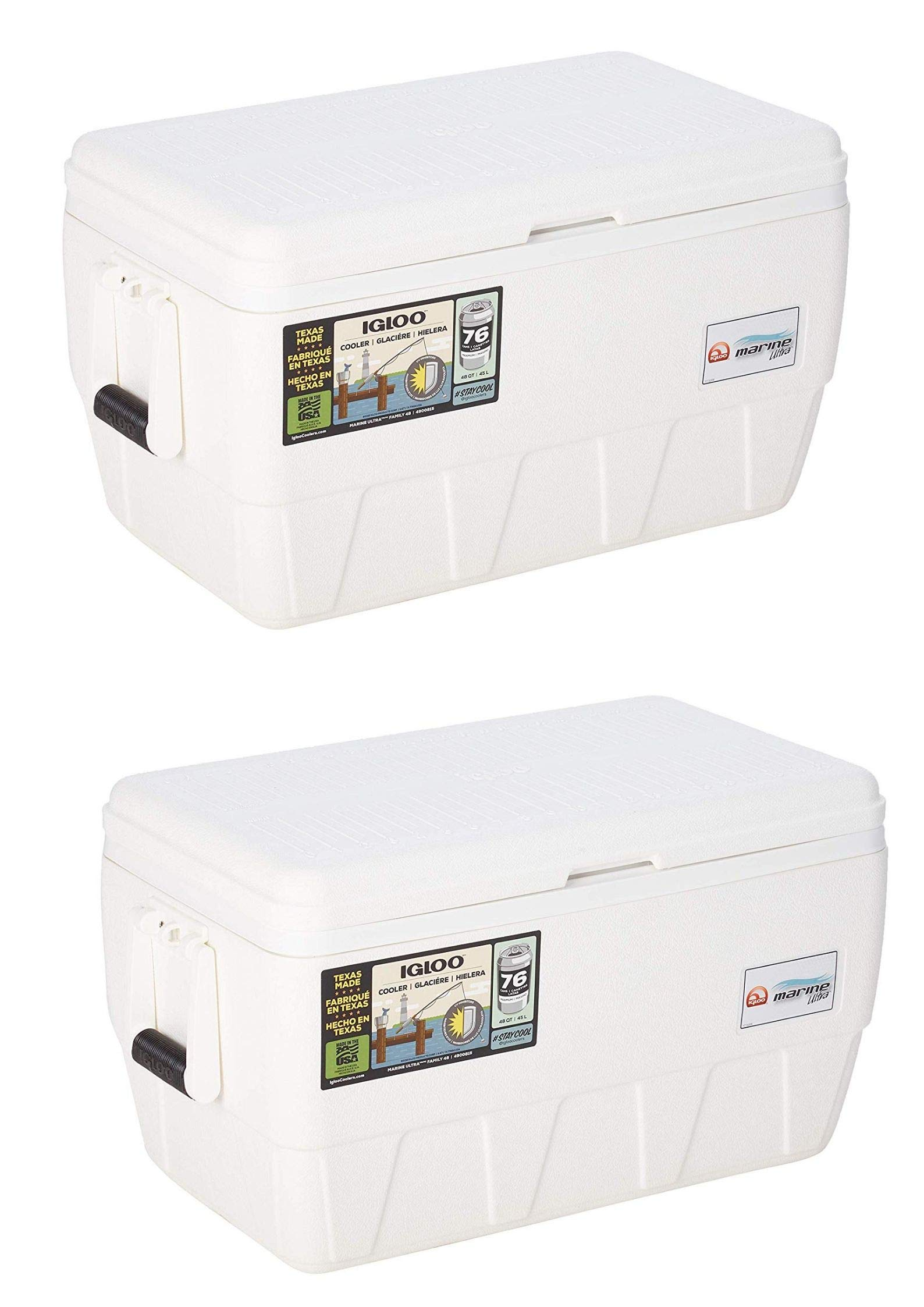 Igloo Marine Ultra 48 Cooler (48-Quart/Pack of 2)
