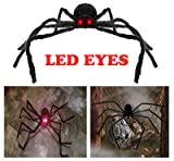 AISENO Giant Spider 4.2FT/125cm with LED Eyes