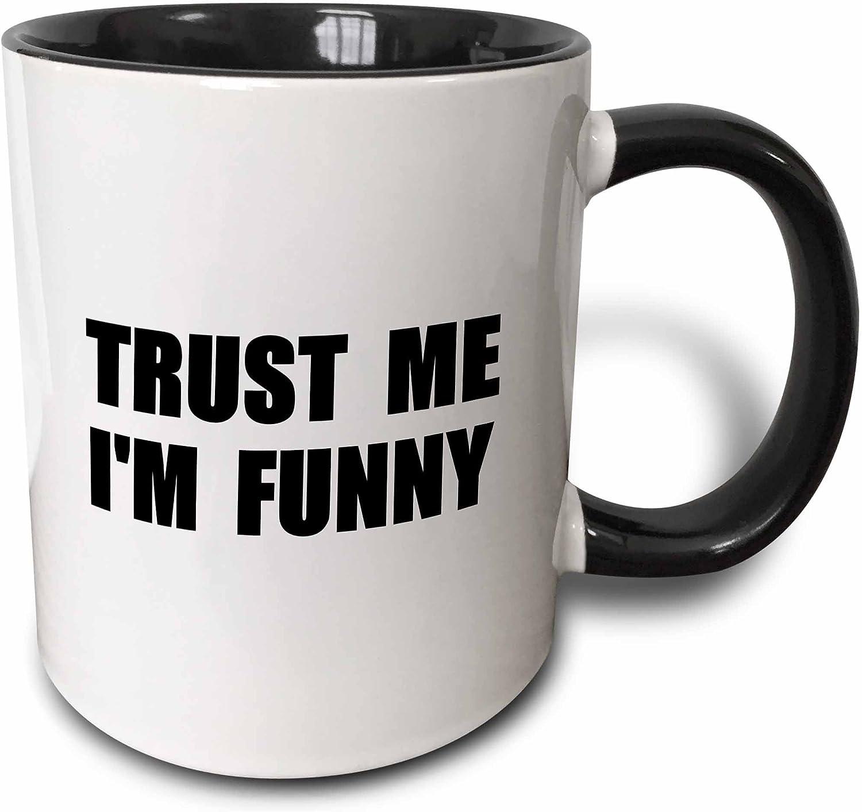 3dRose InspirationzStore Trust Me Serie–Confía en mí Im Funny–para el actor cómico de aspiración o Comic Humor divertido–tazas