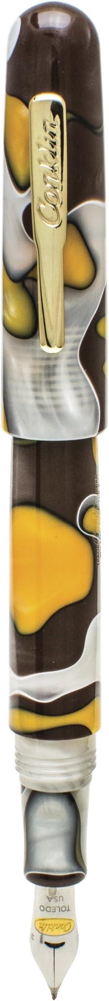 Fine Nib Yellowstone CK71401 Conklin All American Fountain Pen