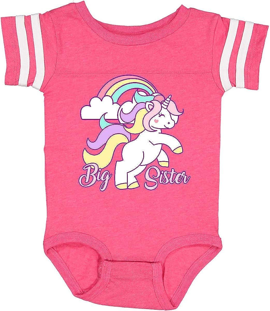 inktastic Big Sister Unicorn Infant Creeper