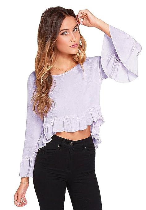 Moda de blusas elegantes 2015