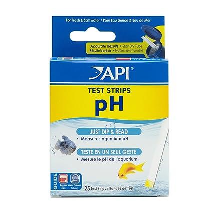 amazon com api ph test strips freshwater and saltwater aquarium