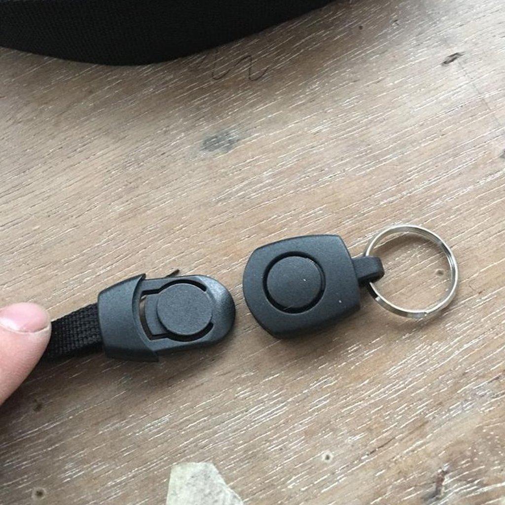 Homyl 1 Psc Hebilla de Cintur/ón de Mochilla Colgante llavero Plastic/ó Multiusos Al Aire Libre