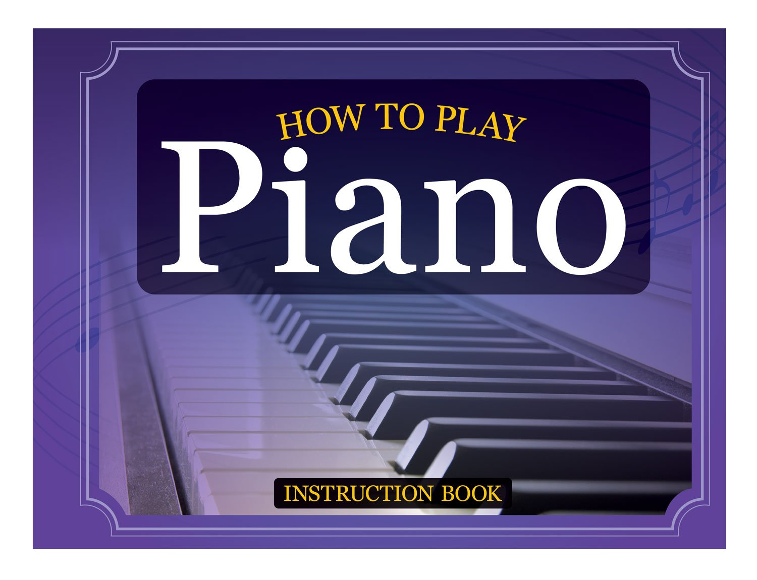 How to Play Piano Book, Flashcards & Keyboard Clings by Miles Kimball