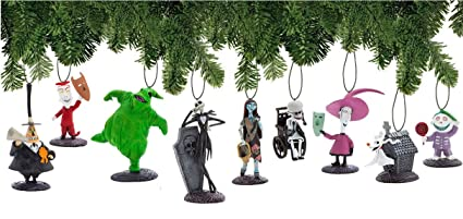 94275a1d8746f Image Unavailable. Image not available for. Color  Disney Nightmare Before  Christmas Ornament Set ...